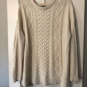 BDG Oversize Cable Knit Sweater
